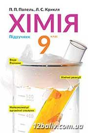 ГДЗ Хімія 9 клас П.П. Попель, Л.С. Крикля (2017 рік)
