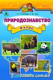 ГДЗ Природознавство 4 клас Гільберг Сак 2015 - відповіді онлайн